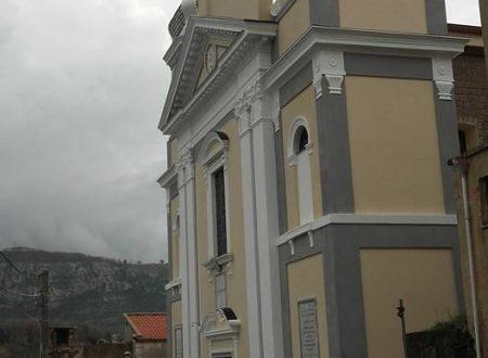Chiesa della Natività di Maria Vergine, inaugurazione del sagrato