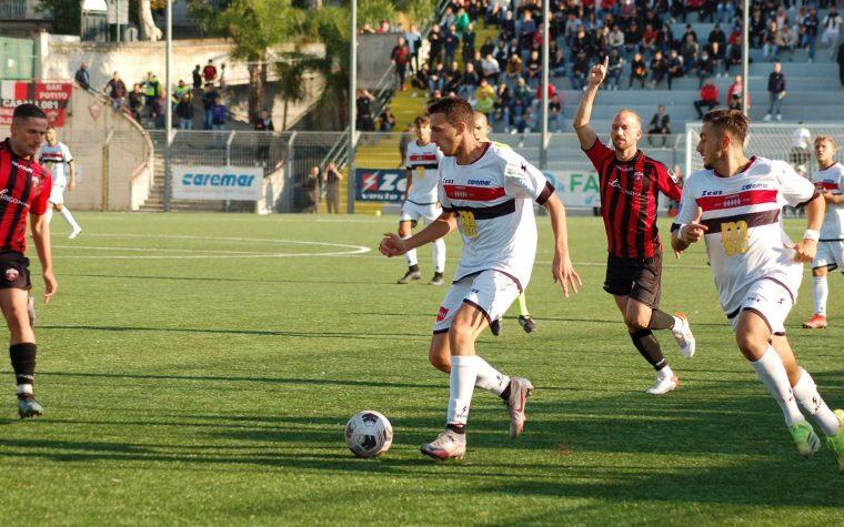 Sorrento Calcio, vibrante derby con la Nocerina